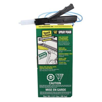 Touch N Foam 15 Pi2 2 Component Polyurethane Spray Foam