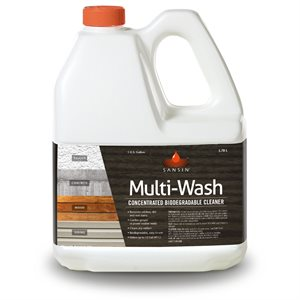 SANSIN MULTI-WASH - BIODEGRADABLE CLEANING FOR PRATICALLY ANY SURFACE