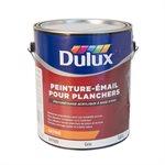 DULUX - PEINTURE PLANCHER À BASE D'EAU SATIN (GRIS) - 3,78L