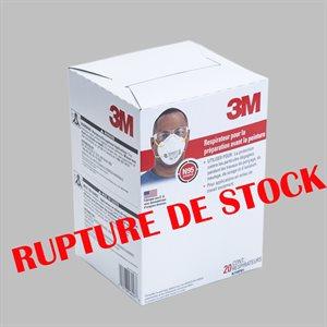 MASQUE-RESPIRATEUR N95 8210 CONTRE LES PARTICULES (20)